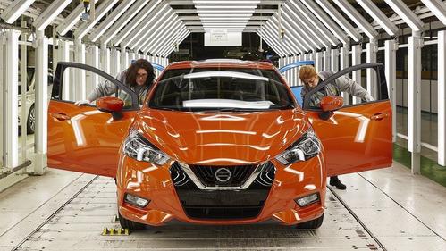 Новый Nissan Micra начали собирать во Франции.