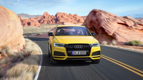Фотогалерея обновлённого Audi Q3.
