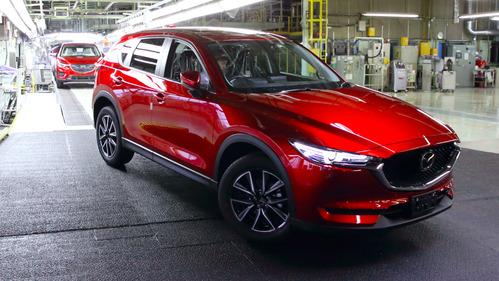В Японии стартовало производство новой Mazda CX-5.
