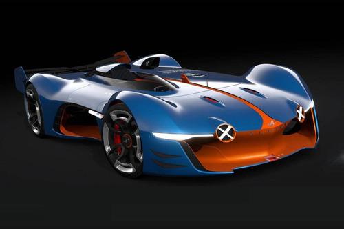 Alpine показал концепт-суперкар Vision