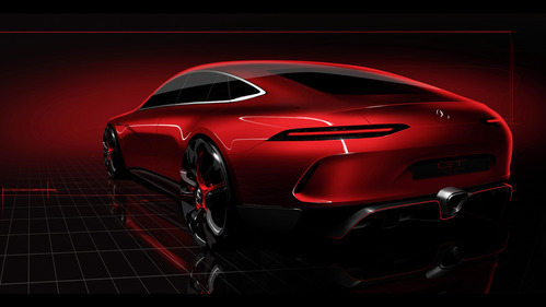 Mercedes-AMG представит в Женеве конкурента Porsche Panamera – смотреть видео на Am.ru