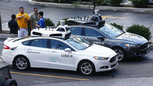 Водители спасают беспилотники Uber каждую милю.Новости Am.ru