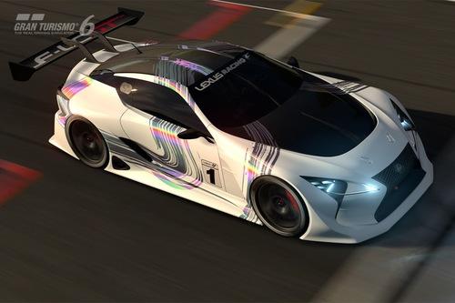 Lexus рассекретил гоночный прототип LF-LC Vision Gran Turismo для видеоигры