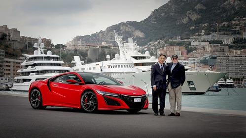 Первым владельцем Honda NSX в Европе стал не случайный человек.