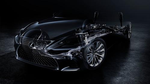 Первый тизер нового  Lexus LS  раскрыт за месяц до дебюта.