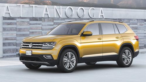Официальные фотографии Volkswagen Atlas - смотреть фото на Am.ru.