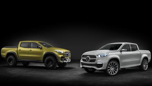 Официальные фотографии Mercedes-Benz X-Class Concept - смотреть фото на Am.ru.