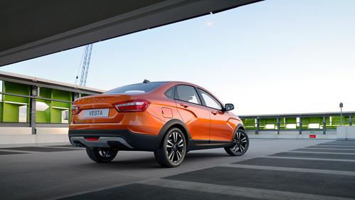 У моделей семейства Lada Vesta Cross будут одинаковые обвесы и интерьеры.