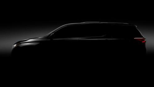 Первое изображение Chevrolet Traverse нового поколения.Новости Am.ru
