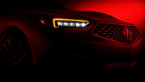 Первое изображение обновлённой Acura TLX.Новости Am.ru
