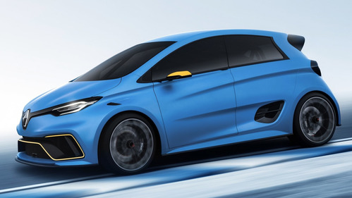 Renault привёз в Женеву «горячий» электромобиль Zoe e-sport. Новости Am.ru