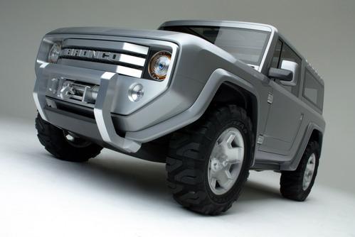 Фотогалерея концепта Ford Bronco 2004 года.