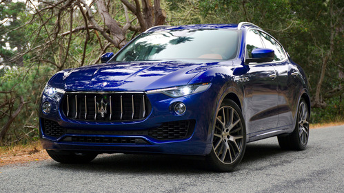 Коробка передач Maserati Levante может переключаться сама.
