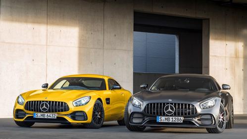 Официальные фотографии обновлённого Mercedes-AMG GT - смотреть фото на Am.ru.