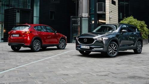 Фотогалерея новой Mazda CX-5 для Европы.