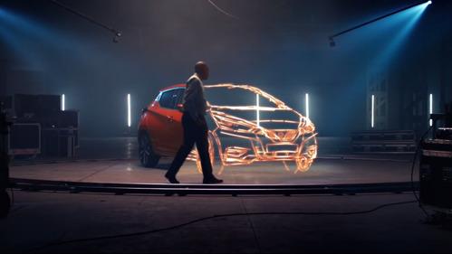 Художник с потрясающей памятью нарисовал Nissan Micra в 3D.