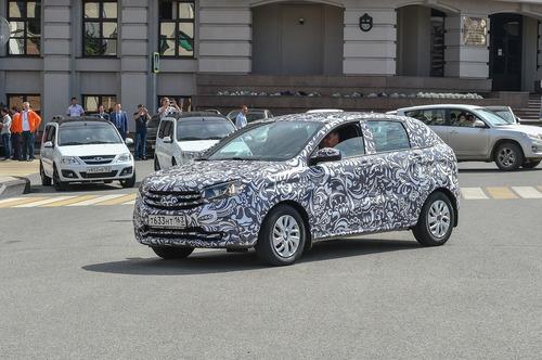 Lada XRAY тесты в Германии