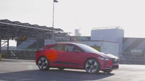 Видео первого электрокара Jaguar i-Pace.