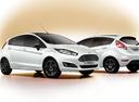 Чёрно-белые Ford Fiesta и Focus с доплатой в 50-70 тысяч рублей.