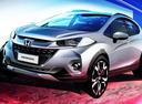 Honda показала тизер субкомпактного кроссовера WR-V.Новости Am.ru