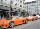 Фотогралерея первой встречи владельцев суперкаров Koenigsegg.