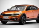Qoros представил внедорожный седан 3 GT.Новости Am.ru