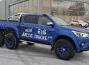 6-колёсный пикап  Toyota Hilux подготовили для покорения Арктики.